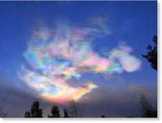 Beautiful polar stratospheric clouds forming around the Arctic Circle Taal Volcano, Arctic Circle, Geography, Quote Of The Day, Norway, Northern Lights, Pride, Clouds, Sunset