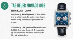 Better even, the original Heuer Monaco or the re-edition Heuer (sans Tag) Tag Heuer Monaco, Top List, Editor, All About Time, Watches, The Originals, Jewelry, Jewellery Making, Tag Watches