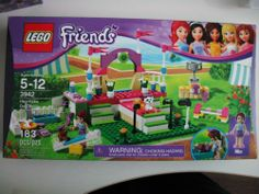 New Lego Friends Set 3942 Heartlake Dog Show Puppy Trophy Pink Retired SEALED 673419165839 | eBay