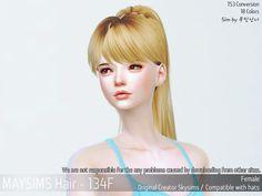메이 아이템 - May_TS4_Hair134F
