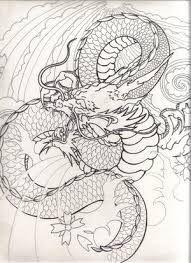 Risultati immagini per how to draw a japanese dragon