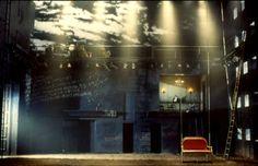 A Clockwork Orange. Steppenwolf Theatre. Scenic design by Robert Brill.
