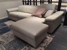 New By NicolettiHome. A Motion Sofa That Extends The Sectional Extension  Even Further With Fluid