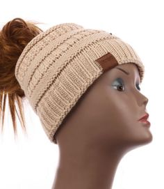 7116515621a Ponytail Beanie Hat New  fashion  clothing  shoes  accessories   womensaccessories  hats