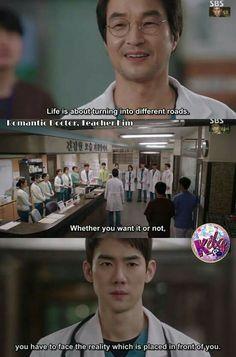 Romantic doctor kim Kdrama Recommendation, Doctors Korean Drama, Medical Series, Medical Wallpaper, Romantic Doctor, Doctor Quotes, Best Kdrama, Korean Drama Quotes, Genius Quotes