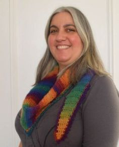 Rainbow After The Storm Shawlette - Free Crochet Pattern - PatternConnection