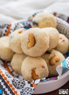 Indian sweet balls made with Semolina, clarified butter and sugar. Find the…