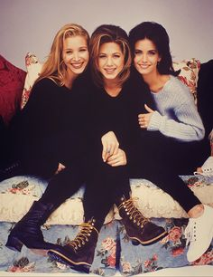 Lisa Kudrow, Jennifer Aniston, Courteney Cox