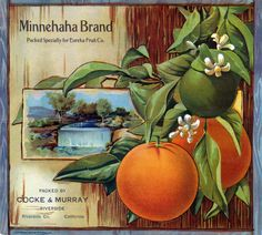 Some of my most favorite images are vintage fruit crate labels...
