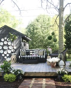 the HUNTED INTERIOR: Outdoor Oasis Reveal