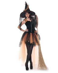 Festive Witch Adult Womens Costume