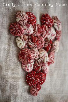 Valentine's Day yo yo heart