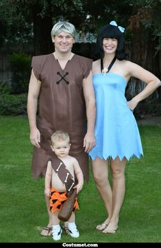 Betty Rubble Costume for Cosplay & Halloween 2020 Costume Halloween, Halloween 2019, Betty Rubble Costume, Barney Costume, Flintstones Costume, Fred Flinstone Costume, Pebbles Costume, Family Costumes, Homemade Costumes