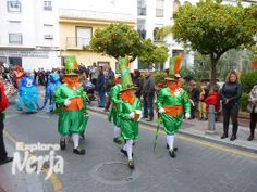 The Irish seem to be everywhere, even in the Carnival in Nerja!