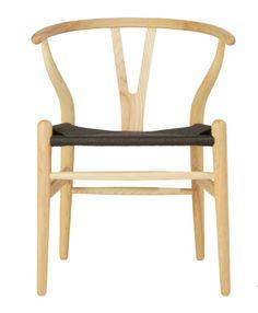 The Matt Blatt Replica Hans Wegner Wishbone Chair Ash/Black