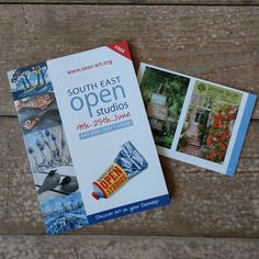 We're supporting #southeastopenstudios2017 - pick up a copy of the SEOS Committee Guide here & pop over to see Louisa Crispin in June