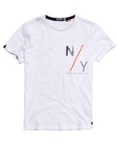 Superdry Surplus Goods Graphic Pocket T-shirt  White