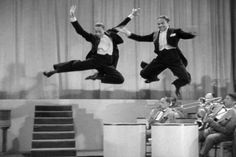 The Nicholas Brothers....one of the best  Dancer duos ever. Fred Astair said their Stair dance in Stormy Weather was the best dance act ever!!
