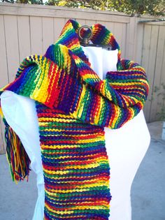 CLOSE OUT and FINAL Sale on this Groovy Scarf by IdasBrooklynBarn, $9.00