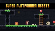 Super Platformer Assets has just been added to GameDev Market! Check it out: http://ift.tt/1HBJT0U #gamedev #indiedev