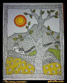Tangling in Italy: I Paesaggini Scarabocchiosi di Gabriella Costa - great blog .  check out gallery