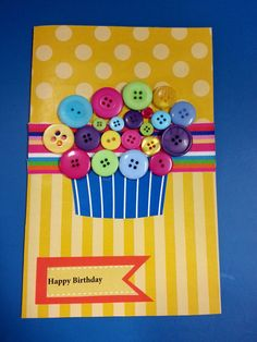 Happy Birthday Card  (Item 018)