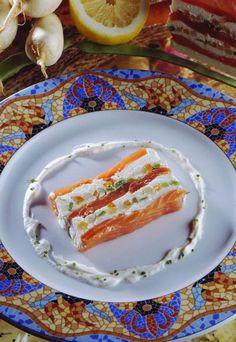 Terrina de salmón con verduras #cuisine #recipes