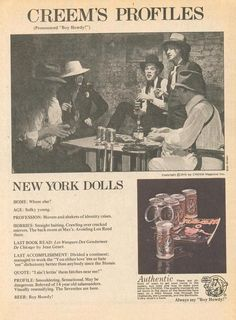 Image result for new york dolls academy of music