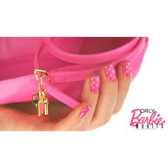 Barbie nails vol. 3: golden dotticure. | MOHITO