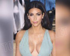 kim kardashian cleavage secret