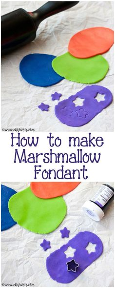 How to make easy and cheap MARSHMALLOW FONDANT (also known as mmf) with step-by-step pictures and many tips! From http://cakewhiz.com