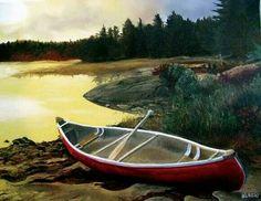 L'aube... Dawn, Canvases