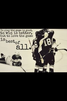 Pittsburgh Penguins Hockey Quote
