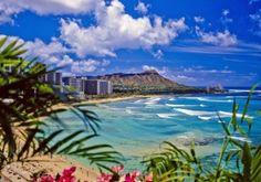 Hawaii ! It's beatiful place ;)