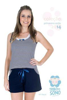 Tribo do Sono Pijamas, short doll, verão.
