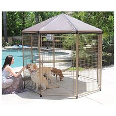 Pet Gazebo™ with Cover