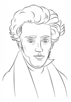 sren kierkegaard coloring page