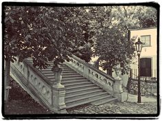 Stairs, Nitra (Slovakia) My Photos, Sidewalk, Stairs, Places, Photography, Life, Outdoor, Outdoors, Stairway
