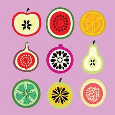 All Fruit Purple Screen Stock Vector (Royalty Free) 588395249 Food Illustrations, Illustration Art, Veggie Art, Fruit Icons, Jar Packaging, Classroom Art Projects, Fruit Picture, All Fruits, Scandinavian Folk Art