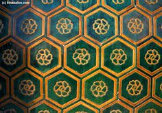 Decorative Tiles, The Forbidden City, Beijing, China