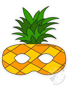 Fruit shaped masks set to print and cut out Creative jobs - P . Fish Paper Craft, Fruit Costumes, Mascaras Halloween, Fruit Crafts, Printable Masks, Creative Jobs, Denim Crafts, Diy Mask, Print And Cut