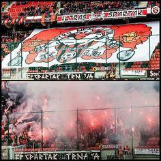 SPARTAK TRNAVA - MSK ZILINA (24/04/2016)  #spartaktrnava #cityarena #spartak #trnava #fortunaliga #pyro #ultras #slovakia #football #sfz #fans #support #choreo #mskzilina #msk #zilina #fanatici #acab #hooligans