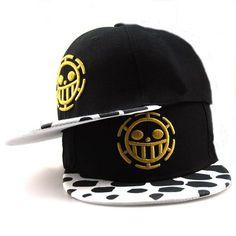 67bc18d1712 Fashion One Piece Baseball Cap Hat Trafalgar Law Caps