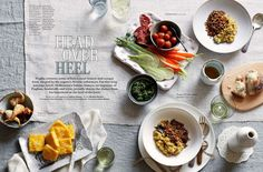 Food - Gallery - Geraldine Munoz Food Photography Styling, Food Styling, Food Magazine Layout, Cookbook Design, Food Gallery, Eat Fat, Unique Recipes, Food Design, Food Pictures