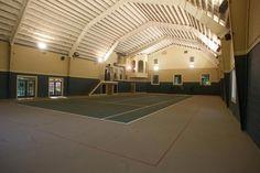 Indoor Tennis in your backyard