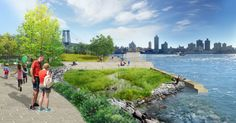 Pier 42 masterplan by Mathews Nielsen #newyork #planning #landscape