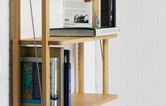 Durable and practical, with careful attention to proportion and detail, the #StHughs wall-hung #shelf #piece, with 3 adjustable #shelves, is available in a choice of #timbers, dimensions and finishes, to order. By #MakersEye, winner of the 2014 #WoodAwards ' #Bespoke Furniture #Award for its 200-piece #oak #furniture #collection. http://www.makerseye.co.uk/designers/m/makers-eye-house-designs/st-hughs-wall-hanging-shelving-in-oak/?cid=8044