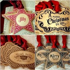printable christmas tags by francesca  Would like to find these but the link is a wild goose chase!