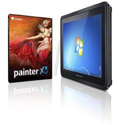 Corel Painter X3 & Modbook Pro [Windows] 2.9GHz i7, 16GB RAM, 2.5TB Mobile Storage, USB3 Shuttle Modbook Pro http://www.amazon.com/dp/B00GV4G1DY/ref=cm_sw_r_pi_dp_DPG-ub0VGGGRJ