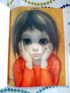 strawberry lemonade: 60s Illustrators are Peachy Keen: Margaret Keane's Big Eyed Wonders